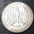 1927 Germany 3 Reichspfennig Copy Coin