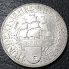 1927 Germany-1871-1948 5 Reichsmark Bremerhaven Silver Plated Copy Coin