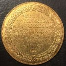 1913 Bronze Medal .Kyle Haim's Liberation hall Copy Coin 45mm
