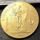 1908 France 100 Francs Copy Gold Coin