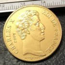 1830 France 40 Francs Copy Gold Coin