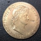 1820 Spain 8 Escudos - Fernando VII Gold Copy Coin