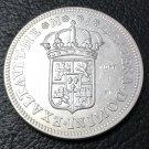 1709 MJ Spain 8 Reales - Felipe V Copy Coin