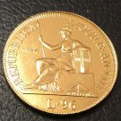 1805 Republic of Genoa (Italian states) 96 Lire Gold Copy Coin