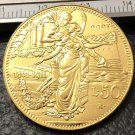 1911 Itlay 50 Lire Gold Copy Coin