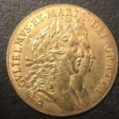 1691 England 5 Guineas - William & Mary .9999 pure Gold Plated Copy Coin