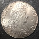 1695 England 1 Crown - William III Dollar Copy Coin