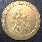 United Kingdom 1797 Copper 1 Penny - George III Copy Coin