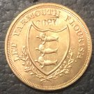 1792 United Kingdom - Conder Tokens half Penny Norfolk / Yarmouth Copper Coin