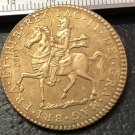 1690 Ireland 1 Crown-James II Brass Metal Copy Coin