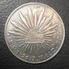 1824 Mexico 8 Reales Copy Coin