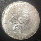 1852 Cordoba 8 Reales Copy Coin
