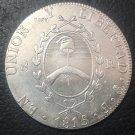 1815Argentina 8 Reales Provincias del Rio de la Plata Copy Coin