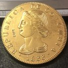 1833 Colombia 8 Escudos (Republic of Colombia, Republic of Nueva Granada) Gold Copy Coin