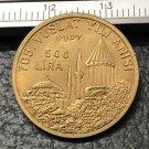 1978 Turkey 500 Lira Jalaladdin Rumi Gold Copy Coin