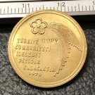 1973 Turkey 500 Lira Republic Gold Copy Coin