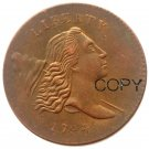 1794 Liberty Cap Head Right Half Cents 100% Copper Copy Coins No Stamp