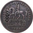 USA Civil War 1863 Copy Coins #15 No Stamp