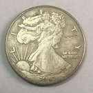 "1943	United States ½ Dollar ""Walking Liberty Half Dollar"" Copy Coin No Stamp"