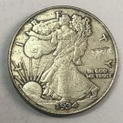 "1934-S United States ½ Dollar ""Walking Liberty Half Dollar"" Copy Coin No Stamp"