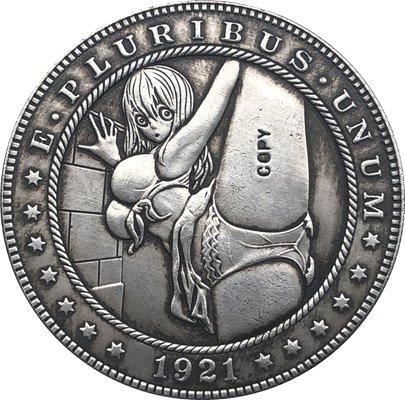 Hobo Nickel 1921-D USA Morgan Dollar COIN COPY For Collection TY86
