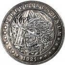 Hobo Nickel 1921-D USA Morgan Dollar COIN COPY Type 173 No Stamp