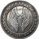 Hobo Nickel 1881-CC USA Morgan Dollar COIN COPY Type 171 No Stamp