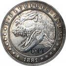 Hobo Nickel 1881-CC USA Morgan Dollar COIN COPY Type 168 No Stamp