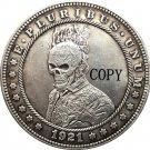 Hobo Nickel 1921-D USA Morgan Dollar COIN COPY Type 157 No Stamp