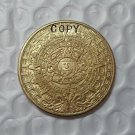 Mayan 2012 Prophecy Gold Commemorative Copy Coins No Stamp