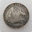 1934 Australian Florin Copy Coin