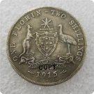 1915-H Australian Florin Copy Coin