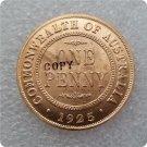 1925 Australian Penny Copy Coin