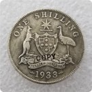 1933 Australian One Shilling Copy Coin