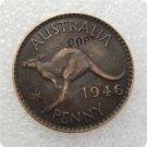 1946 Australian Penny Copy Coin