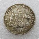 1914-H Australian Florin Copy Coin