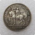 1934/35 Australian Centenary Florin George V Copy Coin