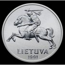 1991 Lithuania Commemorative Copy Coin