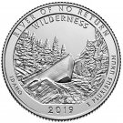 2019 US National Park No.50 Idaho Wilderness Quarter Dollar Commemorative Copy Coin
