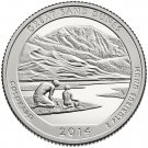 2014 US National Park No.24 Colorado Great Sand Dunes Quarter Dollar Commemorative Copy Coin