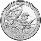 2017 US National Park No.40 Indiana George Rogers Clark Quarter Dollar Commemorative Copy Coin