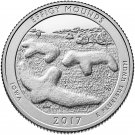 2017 U.S. National Park No.36. Iowa Effigy Mounds Quarter Dollar Commemorative Copy Coin