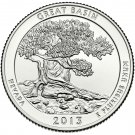 2013 US Nevada Great Basin National Park Quarter Dollar Commemorative Copy Coin