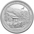 2014 US Tennessee Great Smoky Mountains National Park Quarter Dollar Commemorative Copy Coin