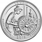 2019 US Massachusetts Lowell National Park Quarter Dollar Commemorative Copy Coin