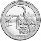 2014 US Florida Everglades National Park Quarter Dollar Commemorative Copy Coin