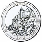 2012 US Maine Acadia National Park Quarter Dollar Commemorative Copy Coin