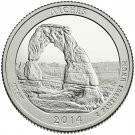 2014 US Utah Arches National Park Quarter Dollar Commemorative Copy Coin
