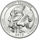 2013 US South Dakota Mount Rushmore National Park Quarter Dollar Commemorative Copy Coin