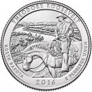 2016 US North Dakota Theodore Roosevelt National Park Quarter Dollar Commemorative Copy Coin